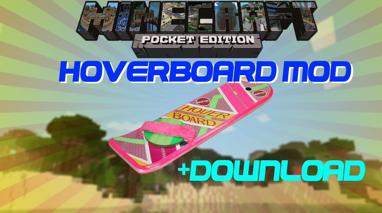 how to make a hoverboard in minecraft