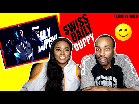 """AMERICANS REACT TO UK RAP """"SWISS"""" DAILY DUPPY