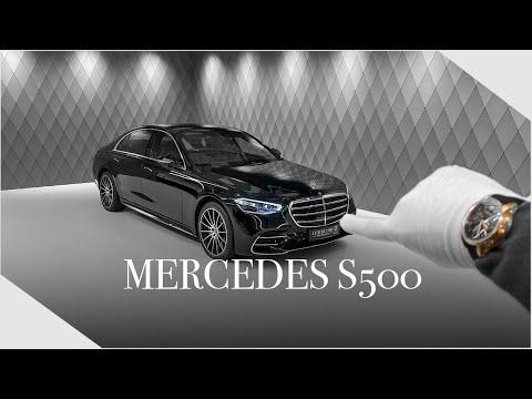 NEW super luxurious MERCEDES S500 - Detailed Walkaround | Luxury Cars Hamburg