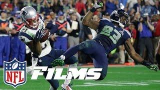 #1 Malcolm Butler's Goal Line Pick in Super Bowl XLIX | NFL Films | Top 10 Interceptions