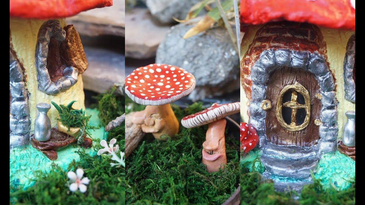 casa miniatura para duendes para tu jard n youtube