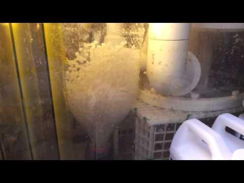 DIY Bio Pellet Reactor - Soda Bottle