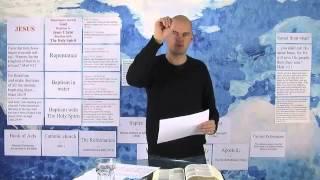 10 урок. Крещение для прощения грехов. Школа Первопроходцев.