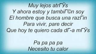 La Ley - Intenta Amar Lyrics
