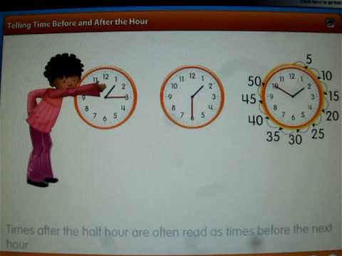 Visual Learning Bridge: Telling Time Before and After the Hour
