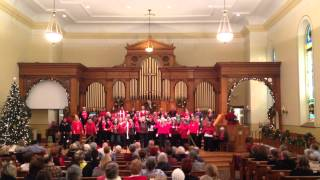 """Voices in Harmony Christmas Show - Singing """"Ode to Joy"""""""
