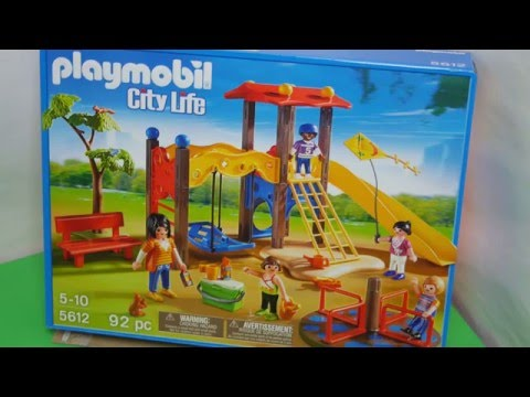 Playmobil Playground- Unboxing Toys Playtime Review