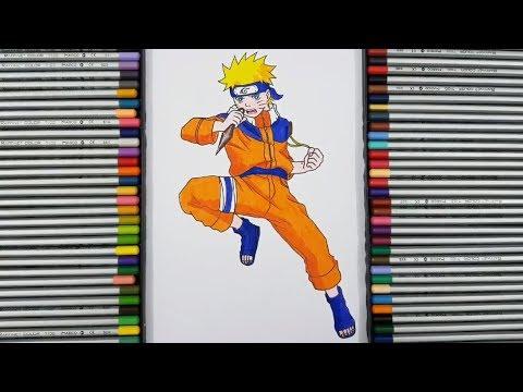 Cách Vẽ Naruto Uzumaki Trong Naruto – How to draw Naruto Uzumaki