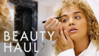 We Gave Jasmine Sanders $150 and 30 Minutes to do Her Makeup. This is her Golden Barbie Beauty Haul!