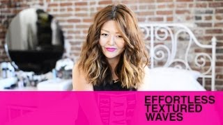 effortless beachy waves tutorial