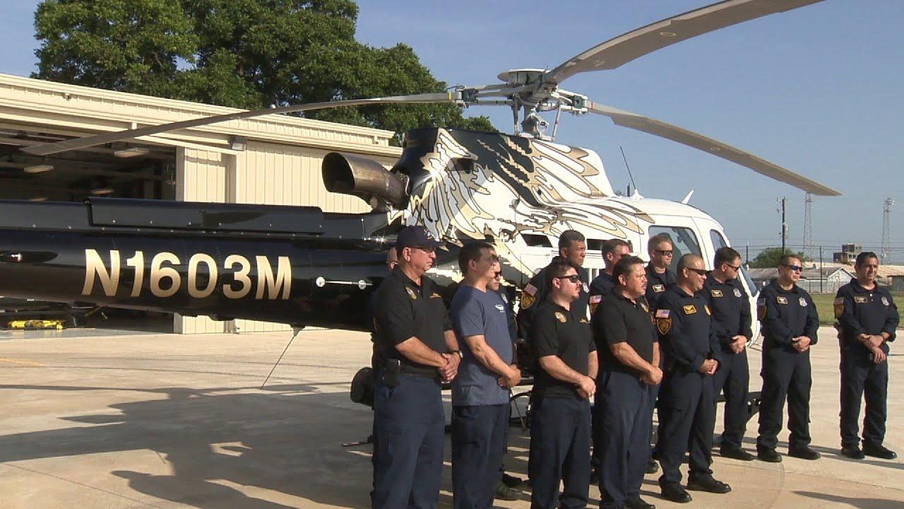 New SAPD chopper named in fallen officer's honor