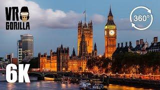 A London City Guided Tour (6K 360 VR Video) thumbnail