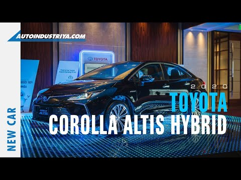 2020 Toyota Corolla Altis rolls out, starts Php 999K - Auto News
