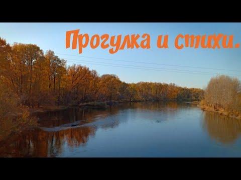 Прогулка по мосту и стихи. Золотая осень.