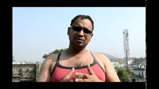 Lathi in the Air-A Bamboo Stick Exercise for Body Fittness