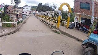 17 Pasca - Cundinamarca, calle 2da, 1ra y diag 4ta y 3ra. Tour en moto por Colombia.