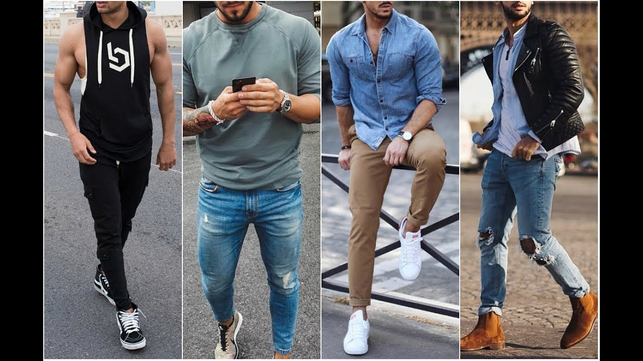 46b4ce425 Outfits Street Style Hombre 2018 Part 2 - Men's Fashion - YouTube
