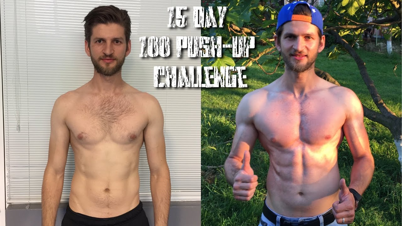 15 Day Push Up Challenge | Daily 100 Push Up