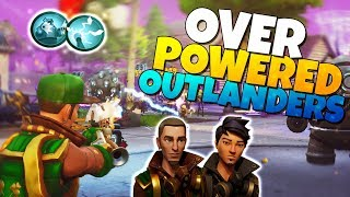 Outlander Heroes Are NOW OVER POWERED! | Fortnite Save The World