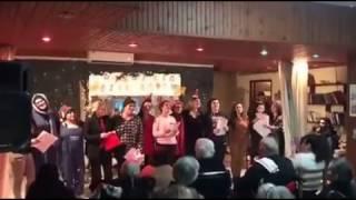 Τραγούδι των συντελεστών της παράστασης!
