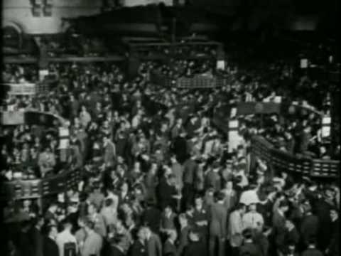 1929 Wall Street Stock Market Crash