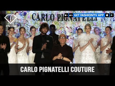 Carlo Pignatelli Couture Spring/Summer 2018 | FashionTV