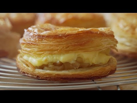 Custard Cream Apple Pie | Honeykki 꿀키