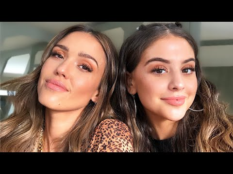 GET READY WITH ME AND JESSICA ALBA