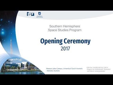 SHSSP17: Opening Ceremony