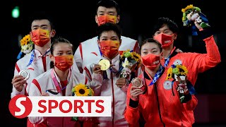 Tokyo Olympic Mixed Doubles badminton: China's Yilyu-Dongping takes gold, edges out compatriots