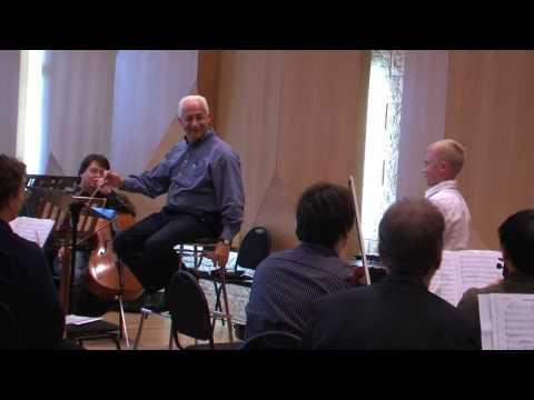 Репетиция с Владимиром Спиваковым