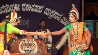 Yakshagana Tulu -- Banatha bangar - Subbi & Karunya - 2