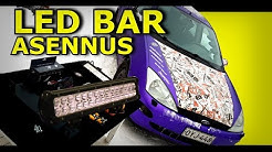 LED Light Bar Asennus