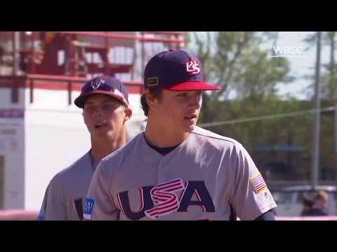 Highlights: USA v Korea - Super Round - WBSC U-18 Baseball World Cup 2017