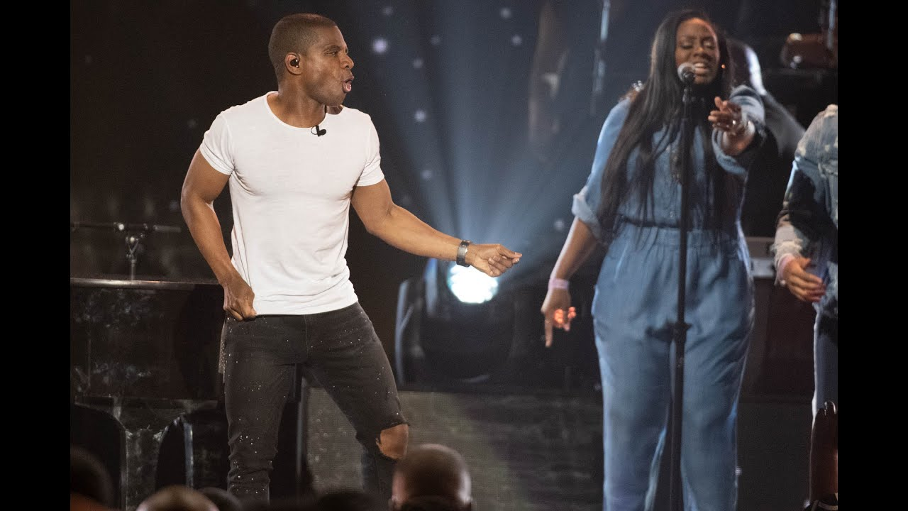 "Kirk Franklin performing ""Just For Me"", ""Beautiful Grace"" & ""Love Theor"