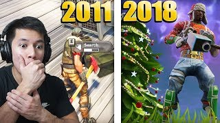 FORTNITE FOR 7 ÅR SIDEN! (2011-2018) - FORTNITE DANSK