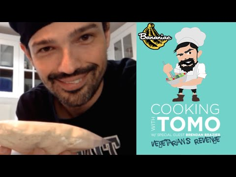 Cooking with Tomo: Vegetarians Revenge with Brendan Brazier on VyRT