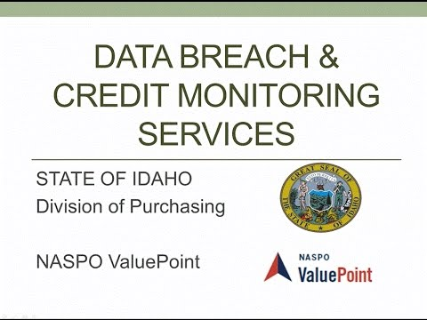 Data Breach and Credit Monitoring State Rollout Webinar