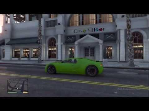 GTA 5: SECRET RARE & EXCLUSIVE CAR Bugatti Veyron (Truffade Adder) Hidden Gameplay Review