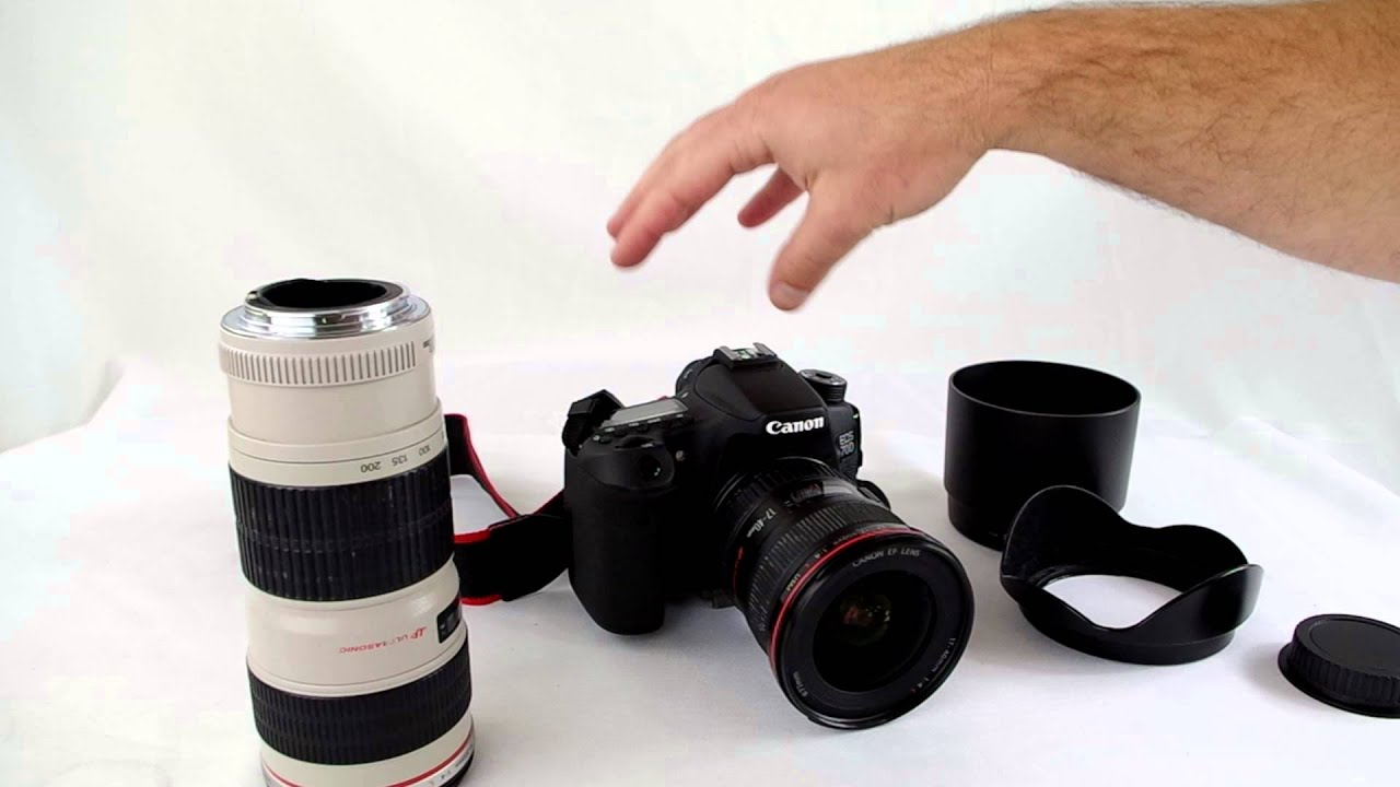 Cheap L series Canon lens - YouTube