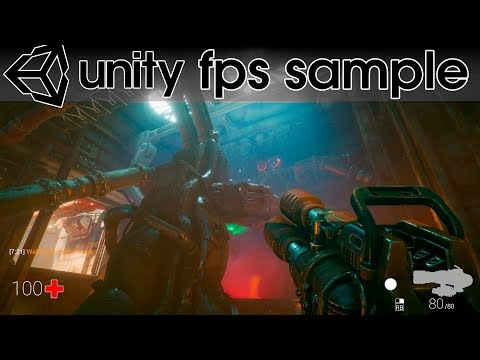 Unity Release Amazing New FPS Sample