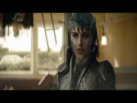 Man of Steel 2013 - Faora UI Fight Scene HD