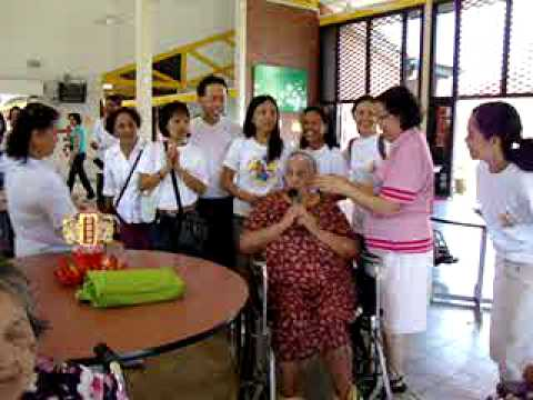 St. Joseph Home for the Aged-El Shaddai Singapore Chapter visit