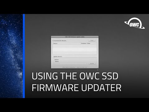 OWC Solid State Drive Firmware Update