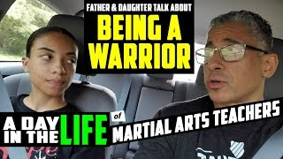 A DAY IN THE LIFE OF A DAD AND DAUGHTER MARTIAL ARTS INSTRUCTOR TEAM - DAY TEN