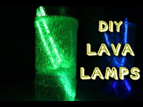 DIY GLOW IN THE DARK LAVA LAMP