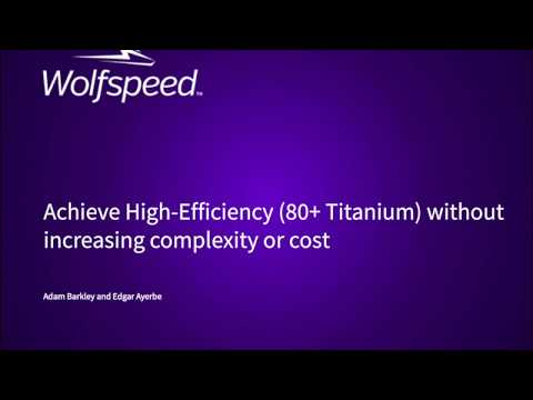 Achieve High-Efficiency Power Supplies (80+ Titanium) Without Increasing Complexity or Cost