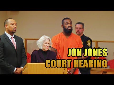 UFC Fighter Jon Jones Drag Racing Court Hearing [Full Length]
