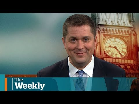 Andrew Scheer on trade, Rebel Media and bots