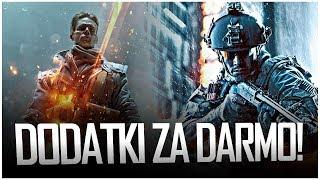 DARMOWE DODATKI w BATTLEFIELD!  Droga do Battlefield 2018 + Kolejna Plotka